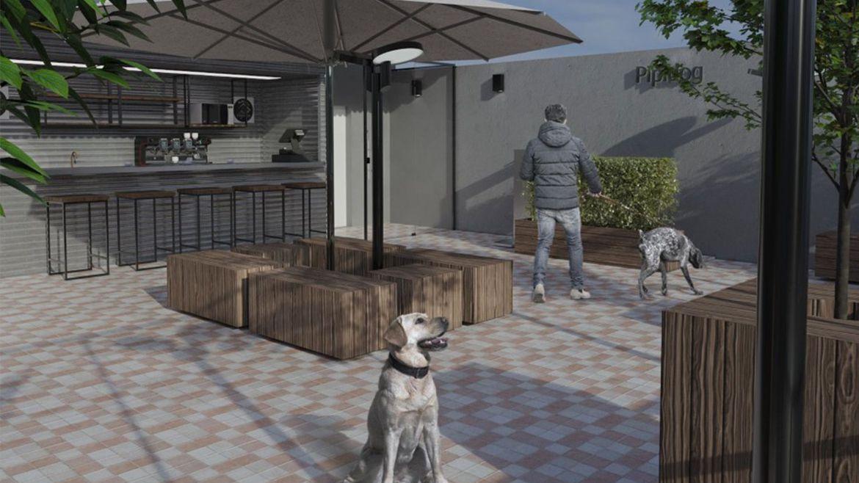 Praça com Café Pet Park Higienópolis 1