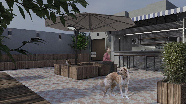 PPraça com Café Pet Park Higienópolis 2