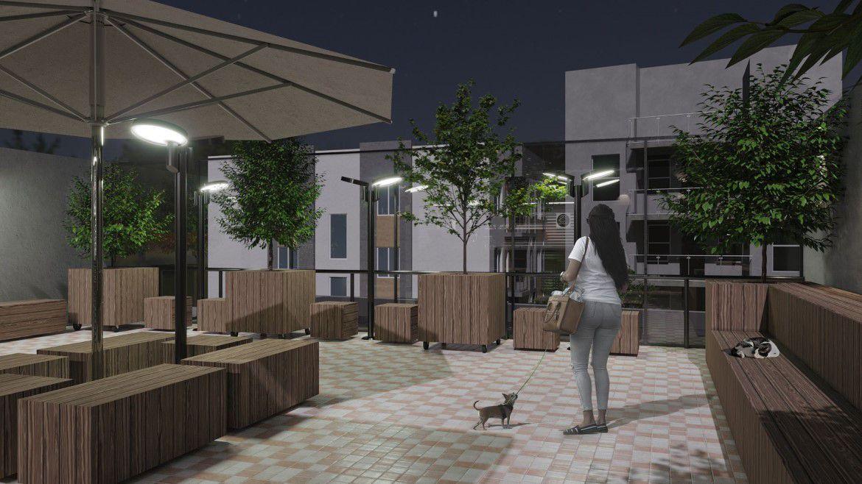 Praça com Café Pet Park Higienópolis 4